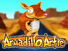 Armadillo Artie из ассортимента казино Гаминаторслотс